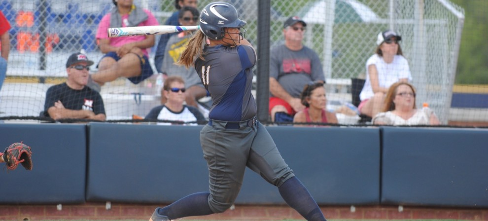Blue Mountain's Autumn Bonner homered against Bethel Tuesday