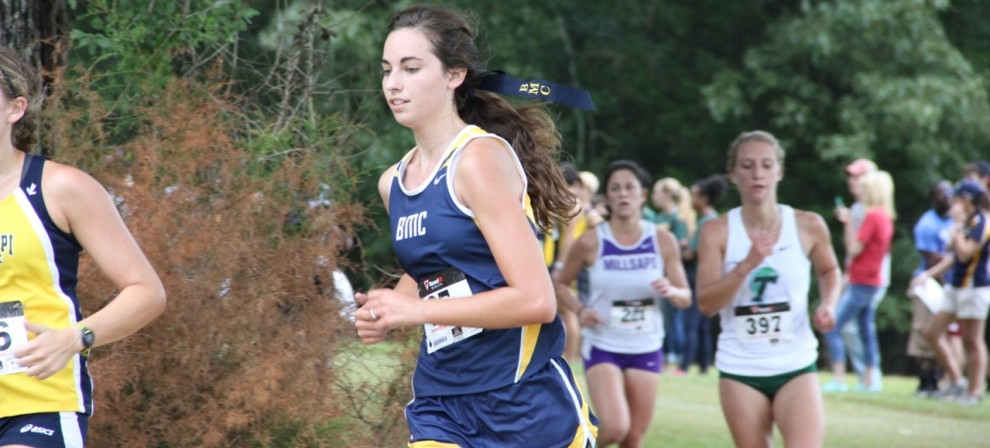 Page Rowland was named the SSAC women's XC Scholar-Athlete of the Year