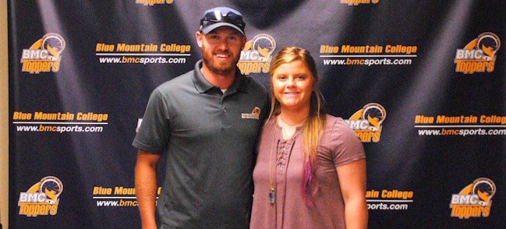Photo for BMC Softball signs JUCO All-American