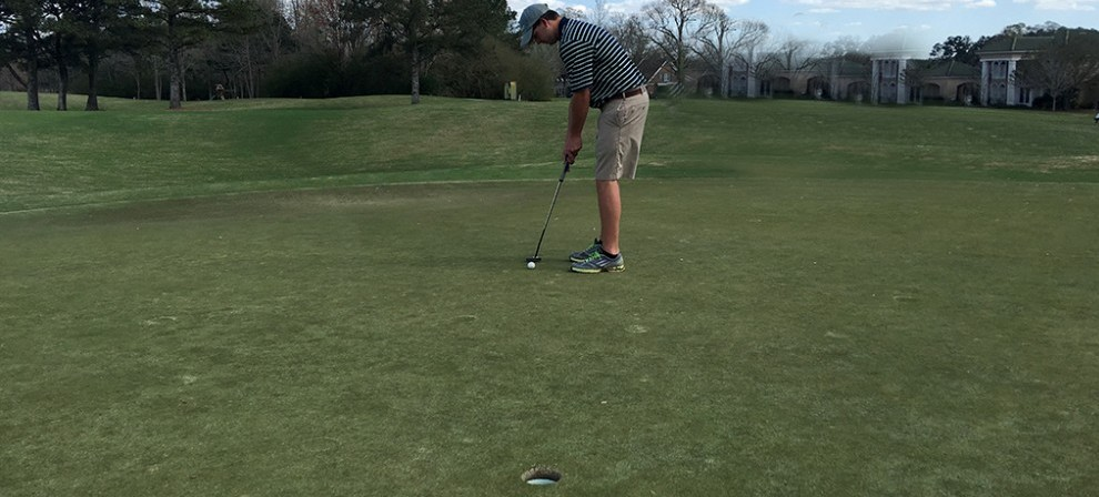 Will Lee (pictured) is BMC Golf's lone senior