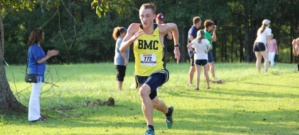 Braden Hardy led BMC to an 11th place finish at Rhodes Saturday