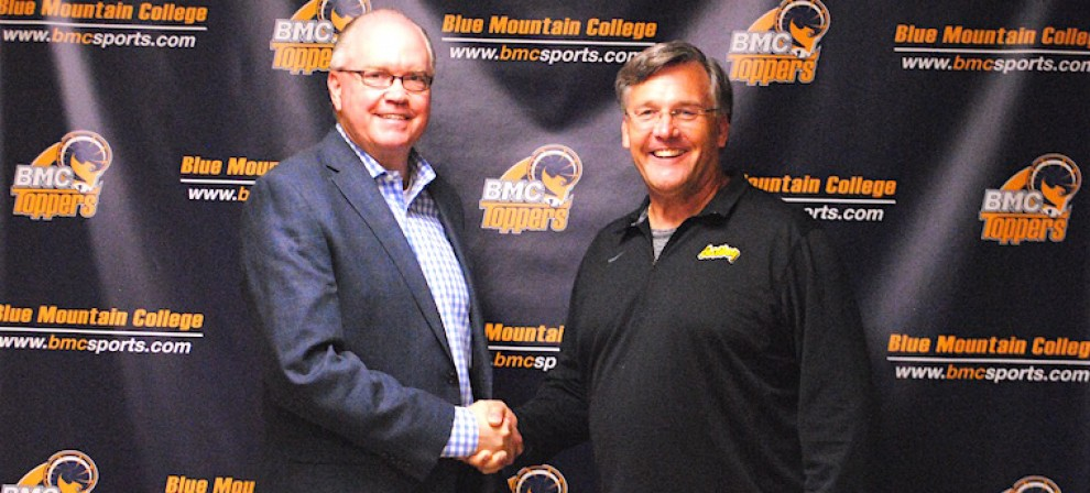 Pictured is BMC AD Will Kollmeyer (left) and Andrew Bush of Eastbay
