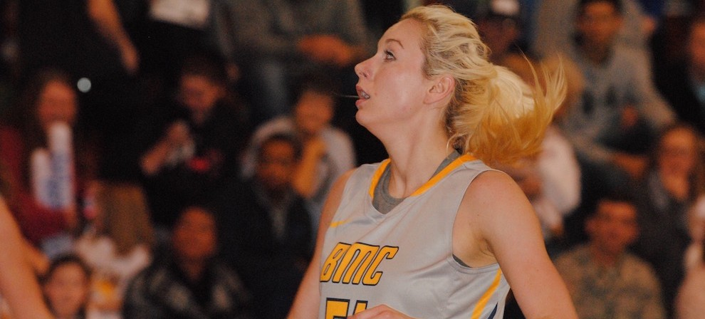 BMC's Mallorie Sweat was named the SSAC's Emil S. Liston Award winner