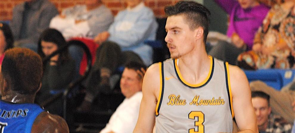 BMC's Conner Helvig had a double-double against Brewton-Parker Saturday